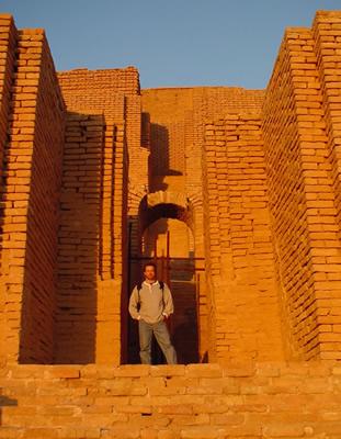 Standing inside Chogha
