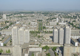 Juche Tower - view east