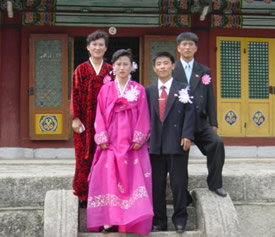 Koryo Museum Wedding Party